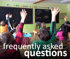 volunteering frequently asked questions